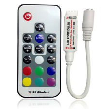 New DC5-24V Mini 17 Keys RF Wireless Remote Controller for RGB LED Strip Light