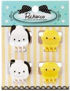 Pochacco Mini Hair Clips Set of 4 Sanrio Girls Hair Accessories