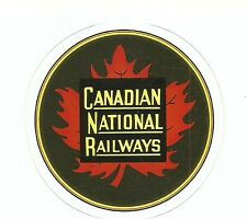 CANADIAN NATIONAL RAILWAYS RAILROAD  Sticker Decal