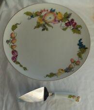 Georges Briard Garden of Eden Pedestal Cake Plate and Server