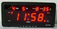 Caixing CX 2158 Desk Wall Digital Electronic LED Alarm Clock