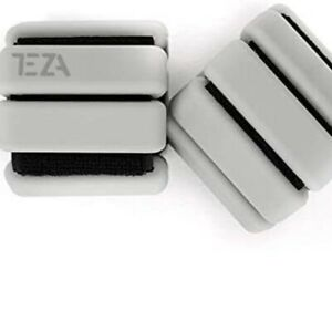 Teza Fitness, Adjustable Wrist & Ankle Weights for Women, 1 lb Weights 2 per set