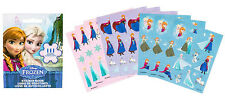 Disney Frozen Party Supplies Favours STICKER BOOKLET 111 Stickers 9 Pages
