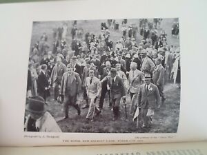 THEY'RE OFF A Journalistic Record of British Sports With Old Photos 1st Ed 1934