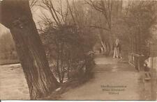 The Mesopotamia   River Cherwell   Oxford   KGVI 2d.   Woodstock 1943   Postcard