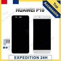 VITRE TACTILE + ECRAN LCD ORIGINAL POUR HUAWEI P10 NOIR / BLANC + OUTILS