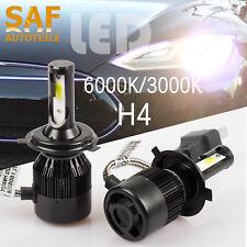 H4 60W LED Hauptscheinwerfer GlühbirneLampen Scheinwerfer front Beleuchtung