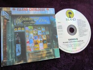 Island Catalogue Sampler Various Island Records CAT 1 Promo CD Album Compilation