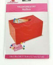 New Valentine's Day Red Mailbox