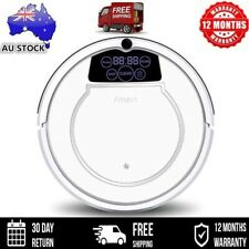 Fmart Robot Vacuum Cleaner Robotic Carpet Mop Floor Dry Wet Automatic Recharg AU