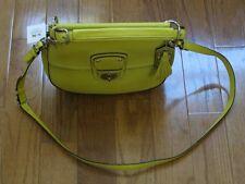 NWT Coach F19132 Leather Willis Crossbody Shoulder Bag Purse Citrine Yellow