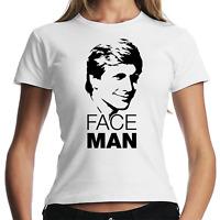 Faceman Face Man The A-Team Kult Retro Fan Fanshirt Lady Damen Girlie T-Shirt