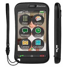 Binatone SM800 Pantalla Táctil Big Button Teléfono Móvil Sin SIM