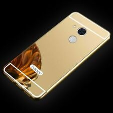 MIROIR / Miroir Pare-chocs en aluminium 2 pièces doré pour Sony Xperia XA2