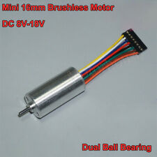 Dc 12v Micro 16mm Mini Electric 8 3 Wire Brushless Motor Hall Effect Sensor