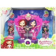 Strawberry Shortcake Sweet Beats Stage Playset-Strawberry Shortcake & Cherry Jam