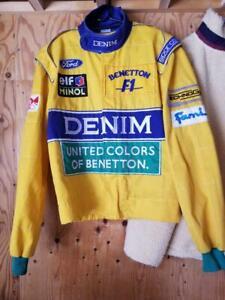 Formula 1 Benetton Ford Sparco original Jacket -  F1 1993 (Michael Schumacher)