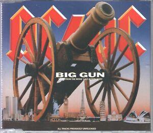 AC/DC   CD-MAXI  BIG GUN  ©  1993   /   NEUWERTIG