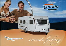 Prospetto D GB 2011 Carado Ruolotte CARAVAN ROULOTTE brochure OPUSCOLO