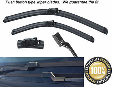 "Ford Galaxy 2006 - 2016 AERO FLAT WINDSCREEN WIPER BLADES 30""26"""