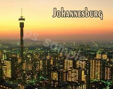 South Africa - JOHANNESBURG - Travel Souvenir Flexible Fridge Magnet