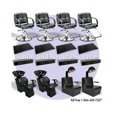 New Salon Spa Beauty Styling Chairs Package Equipment