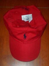 POLO RALPH LAUREN BASEBALL CAP HATS  PONY LOGO ONE SIZE ADJUSTABLE ,NWT!