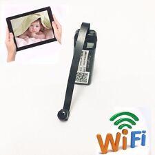 micro WIFI IP spy hidden camera  nanny pinhole Screw Built-in battery recorder