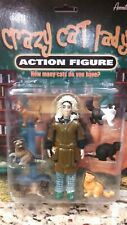 Accoutrements Crazy Cat Lady Action Figure Set in Original Unopened Package 2009