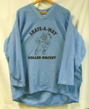ROLLER HOCKEY JERSEYS - BAKKA -  SET OF 6  - LT BLUE  - ADULT L    FREE SHIP