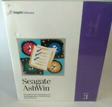 Seagate AshWin Software Version 3 - 1997 - NEW & SEALED Job Scheduling for Heter