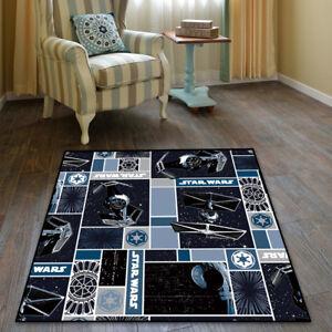 Star Wars Cool Velboa Floor Rug Carpet Living Room Doormat Non-slip Chair Mat&19