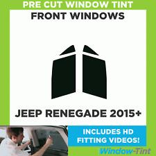 Pre Cut Window Tint - Jeep Renegade 2015 Front Windows