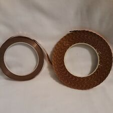 2 Rolls of Copper Foil Tape For Stained Glass