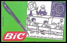 Buvard Publicitaire, Et notre BIC-BIC-BIC national continue à marcher!