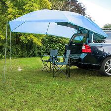 UV40 Auto-Sonnen-Segel-Vor-Dach-Zelt-Plane-Schutz-PKW-Bus mit Saugnäpfen 2 x 3 m