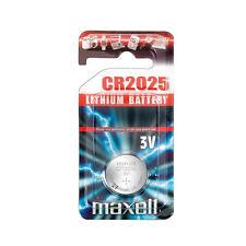 Maxell 3 V CR2025 Single Use Batteries