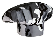 EGOCHEF Bistromütze Kochmütze Artic Combat (Motivdruck Camouflage) ★KULT★