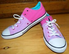 CONVERSE ALL STAR Womens Size 6 Pink Purple TENNIS SHOES Canvas Sneakers* NEW
