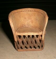 Raine Willitts Take A Seat Mexican Leather Chair 24015 Miniature Dollhouse