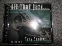 THE BEST OF TONY BENNETT - ALL THAT JAZZ  - CD - ALBUM - (NEW SEALED)