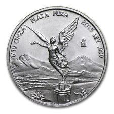 1/10 oncia Messico Libertad Dea Vittoria 999 Argento Moneta d'argento Bullion