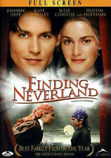 Finding Neverland (DVD, 2005, Full Screen) New and Sealed