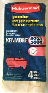 Kenmore Vacuum Cleaner Bags 5023/5033 Canister Style - pack of 4