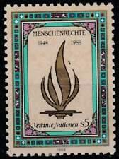 Vereinte Nationen - Wien postfris 1988 MNH 87 - Verklaring Mensenrechten