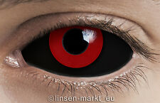 Farbige Crazy & Fun Sclera Kontaktlinsen 22 mm - GREMLIN SCLERA + Behälter!