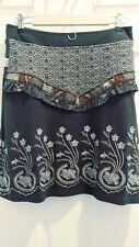 Savage Culture Women's Skirt Brown A-Line Size Medium List Price $99.00