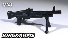BrickArms M60 MACHINE GUN w/ Bipod for Custom Minifigures -US Soldier Military