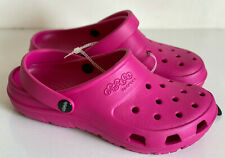 NEW! JIBBITZ BY CROCS RELAXED FIT PRESLEY CLOG CANDY PINK FITS M5 W7 SALE