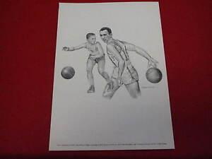 1970 s Equitable Life  Bob Cousey  Celtics    Robert Riger basketball   8x11